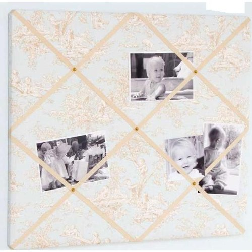 Glenna Jean Central Park Memory Board, Blue/Chocolate/Tan/White, 21'' x 18'' by Glenna Jean