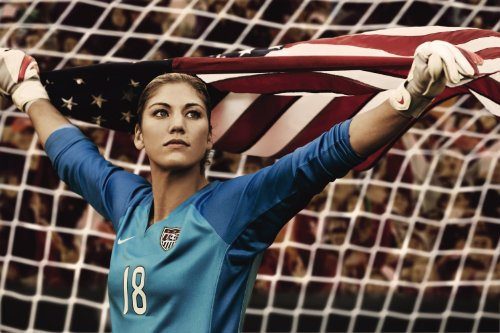 Hope Solo Team USA Soccer Poster Photos