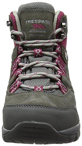 Trespass Merse, Zapatos de High Rise Senderismo Mujer Gris (Frost)