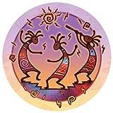 Thirstystone Stoneware Coaster Set, Kokopelli Dance
