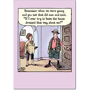 Amazon Grumpy Old Man List Unique Funny Birthday Card With