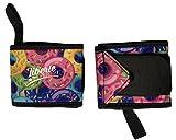 Liberte Lifestyles 3mm Neoprene Wrist Wraps (Pair) - Donut Print