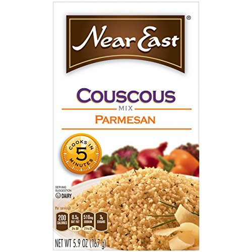 Near East Parmesan Couscous Mix, 5.9-Ounce Boxes (Pack of 12) ( Value Bulk Multi-pack) by Near East