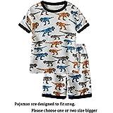 Family Feeling Little Boys Shorts Set Pajamas 100% Cotton Clothes Size 5