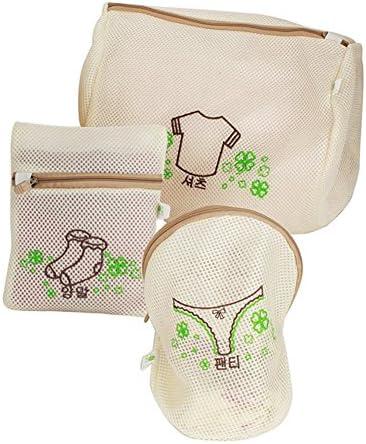 G2PLUS Wäschenetz Set Wäschesack Wäsche Taschen für Unterwäsche Damen Büstenhalter BH's Laundry/Washing Nets Bag (4-er Set)