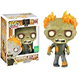 Funko - Figurine Walking Dead - Burning Walker Exclu Pop 10cm - 0849803094850