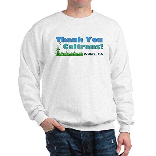 Cafepress   Thank You Caltrans    Classic Crew Neck Sweatshirt