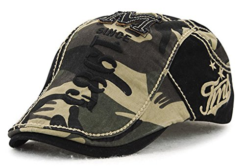 Toddler Costumes Ireland - Gufan Newsboy hat Camouflage (Black Army green)
