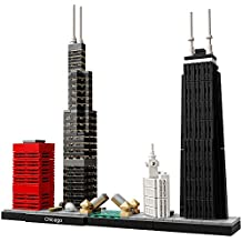 LEGO Architecture Chicago 21033 Skyline Building Blocks Set
