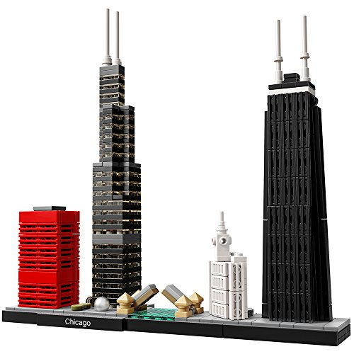 LEGO Architecture Chicago 21033 Skyline Building Blocks Set (444 pieces)
