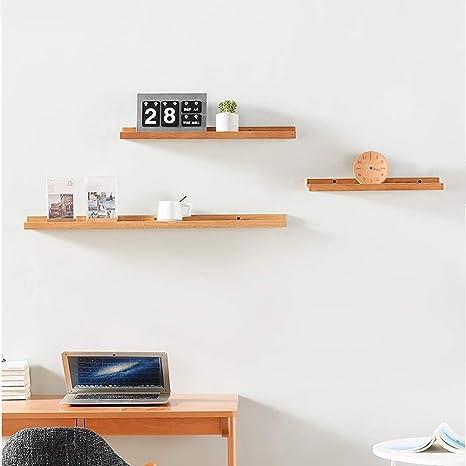 3pc Floating Display Shelves Ledge Bookshelf Wall Mount Storage Shelf Home Decor