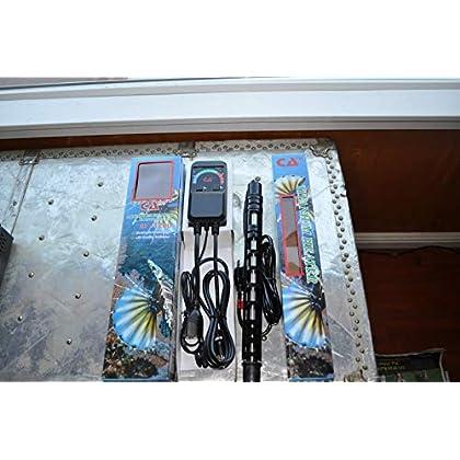 Image of Pet Supplies 1000 Watt Aquarium Titanium Heaters with Controller RF 1200