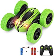 BIFYTON Remote Control Car, RC Car Remote Control Stunt Car Double Sided Rotating Tumbling 360° Flips, Rc Truck with Led Hea