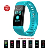 Fitness Tracker, Activity Tracker with Heart Rate Monitor and Sleep Monotir, 0.96'' IP67 Waterproof Sport Bluetooth Smartwatch for Men Women Gifts with Blood Pressure for Android iOS Prime Gifts