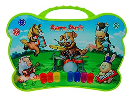 Musical Toys For 1 Year Olds : Amazon.com: wishtime kids farm animal musical touch play singing toy