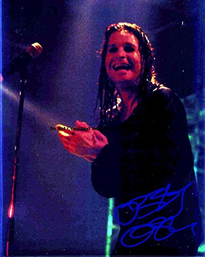 - Ozzy Osbourne Autographed Preprint Signed 11x14 Poster Photo 11