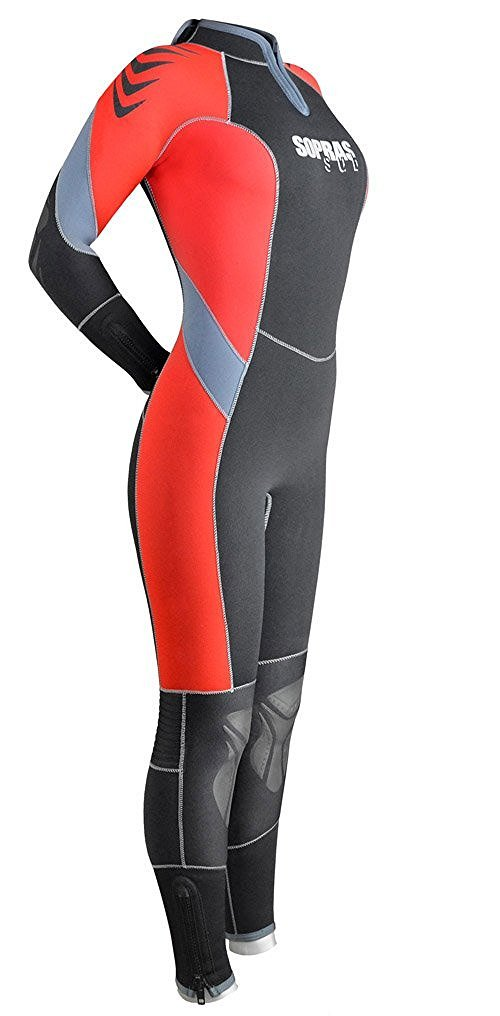 SOPRAS SUB 7MM SEMI-DRY ''ANTIBES'' WOMANS S - 3 WETSUIT SCUBA DIVING COLD WATER