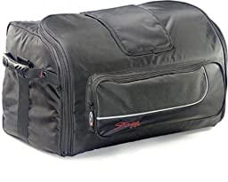 Stagg SPB-15 Padded Nylon Carrier Bag for 15-Inch Molded Speaker - Black