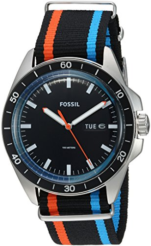 Fossil-Mens-FS5258-Sport-54-Three-Hand-Day-Date-Striped-Polyester-Watch