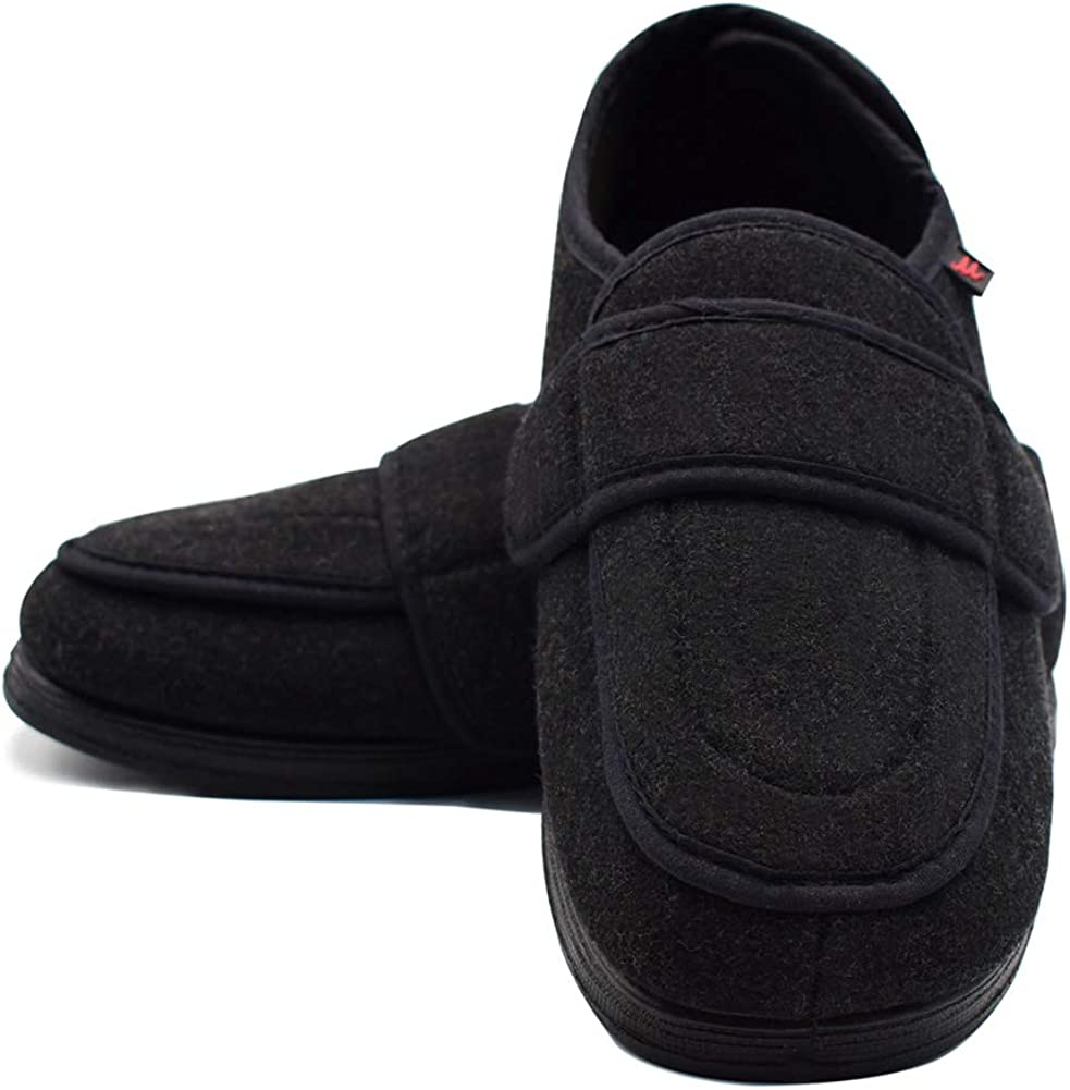FS1693 GBS Med Torbay Unisex Mens Womens Extra Wide Fit Slippers 11 Sizes