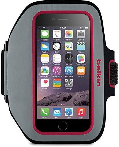 [해외]Belkin Sport-Fit Plus Armband for Apple iPhone 6 - PinkGray / Belkin Sport-Fit Plus Armband for Apple iPhone 6 - PinkGray
