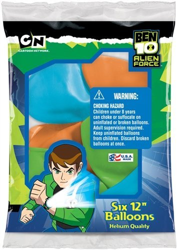 Ben 10 Birthday Party Balloons Supplies Package of (Ben 10 Party Supplies)