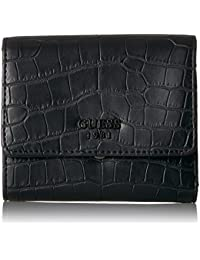 Keaton Croco Small Trifold Wallet