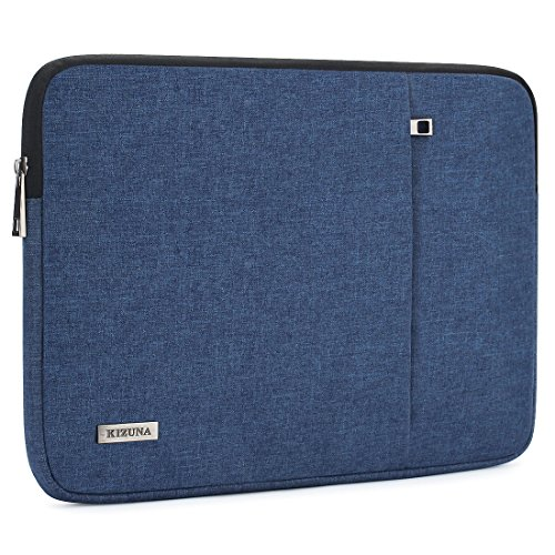 KIZUNA 12.5 Inch Laptop Sleeve Case Water-resistant Handle Bag Compatible with 13'' MacBook Pro Retina Display 2015/New MacBook Pro 2017/13.9'' HUAWEI MateBook X Pro/12.9'' iPad Pro/DELL Chromebook -Blue by KIZUNA