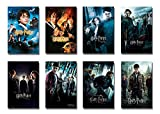 Harry Potter 1-8 - Movie Poster/Print Set (8 Individual Full Size Movie Posters - Version 3) (Size: 24' x 36' each)