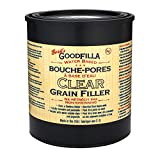 Goodfilla Clear Grain Filler, Quart