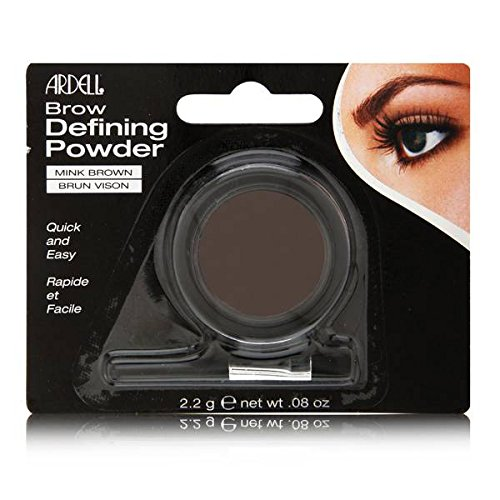 Ardell Brow Defining Powder, Mink Brown - .08 oz