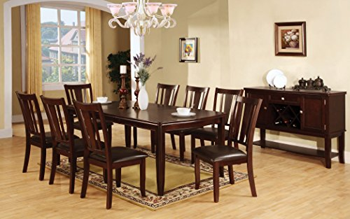 Edwards Transitional 9-Piece Dining Set with Expandable Table ()
