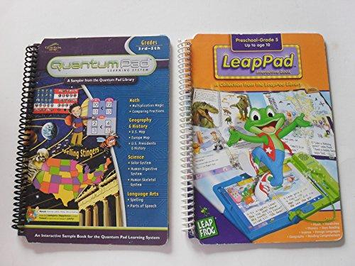 Quantum Pad 3rd-5th and LeapPad Interactive Book Preschool-Grade 5 (Spiral paperback)