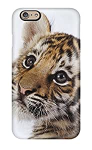 Durable Protector Case Cover With Cute Tiger Cub Hot Design For Iphone 6