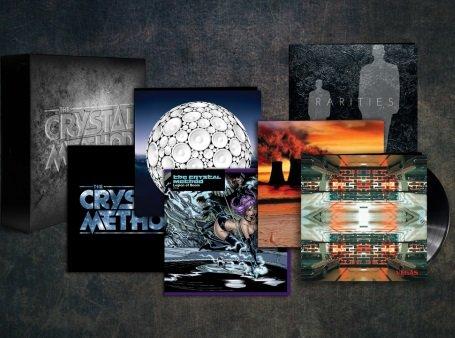 The Crystal Method 20th Anniversary Signature Box Set Vinyl Record LP