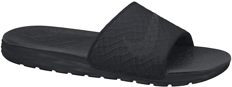 nike men's benassi solarsoft slide athletic sandal