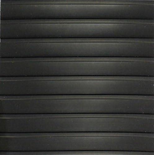 リブパターンガレージフローリングRolls Standard Grade - 55 Mil - 10' x 20' AFM_GRFLR_SG_55Mil_10x20_Midnight_BLK