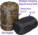 US Army Style Modular Sleeping Bag Blanket System–Od Digital