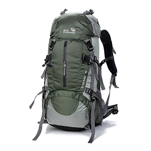 SUNVP-45L5L-Hiking-Backpack-Outdoor-Sport-Nylon-Water-resistant-Internal-Frame-Trekking-Bag-with-Rain-Cover-for-Climbing-Camping-Travel-Mountaineering