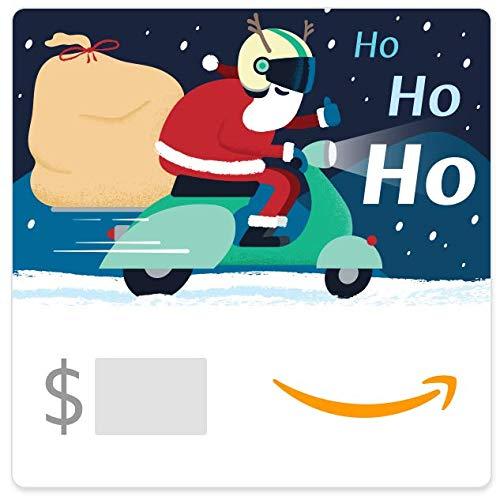 Amazon eGift Card -Scootin' Santa from Amazon