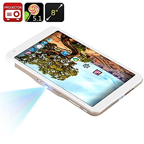 Amazon.com: Android Tablet PC + Mini Proyector – 8 inch ...