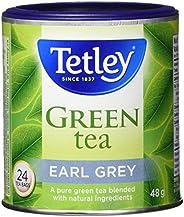 Tetley Tea Earl Grey Green Tea, 24-Count