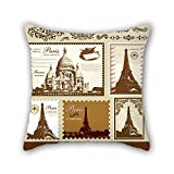 NICEPLW Classical pillow shams 20 x 20 inches / 50 by 50 cm for drawing room,teens girls,study room,son,teens with double sides