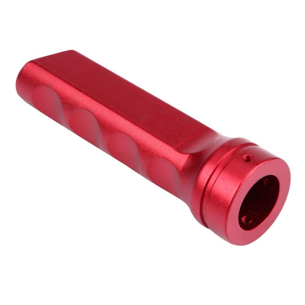 impugnatura in lega di alluminio Protezione per ingranaggi Protezione per freno a mano KIMISS Copertura universale per freno a mano per motocicli rosso,