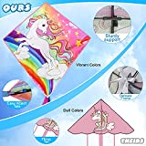 TOY Life Unicorn Kite for Kids Easy to Fly Large