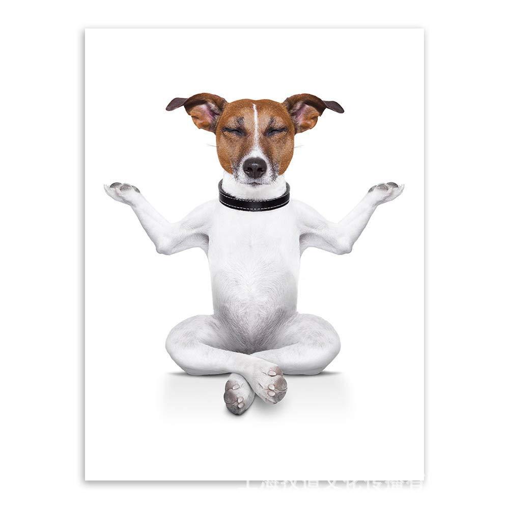baodanla (sin Marco) Cartel de Perro de Moda Simple y Lindo ...