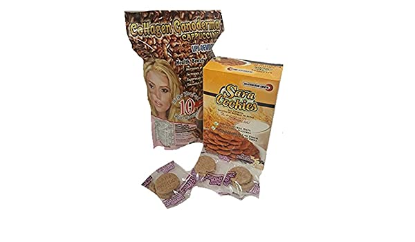 Amazon.com : Collagen Ganoderma Cappuccino & Oat Cookies : Everything Else