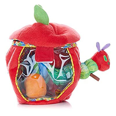 World of Eric Carle, The Very Hungry Caterpillar Apple Play Set and Shape Sorter Developmental Toy : Baby Touch And Feel Toys : Baby
