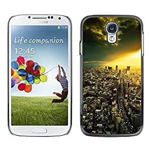 Hot Style Cell Phone PC Hard Case Cover // M00103159 photos cities // Samsung Galaxy S4 i9500