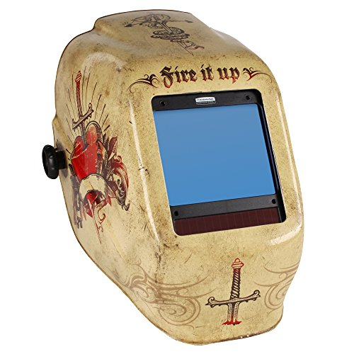Jackson Safety 30314 Tattoo HLX Welding Helmet with TrueSight Digital ADF (Case of 2)